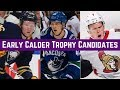 Early Calder Trophy Candidates   Top 5 NHL Rookies