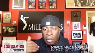 Conversations at Home: Erin Davis & Vince Wilburn, Jr. from The Miles Davis Estate