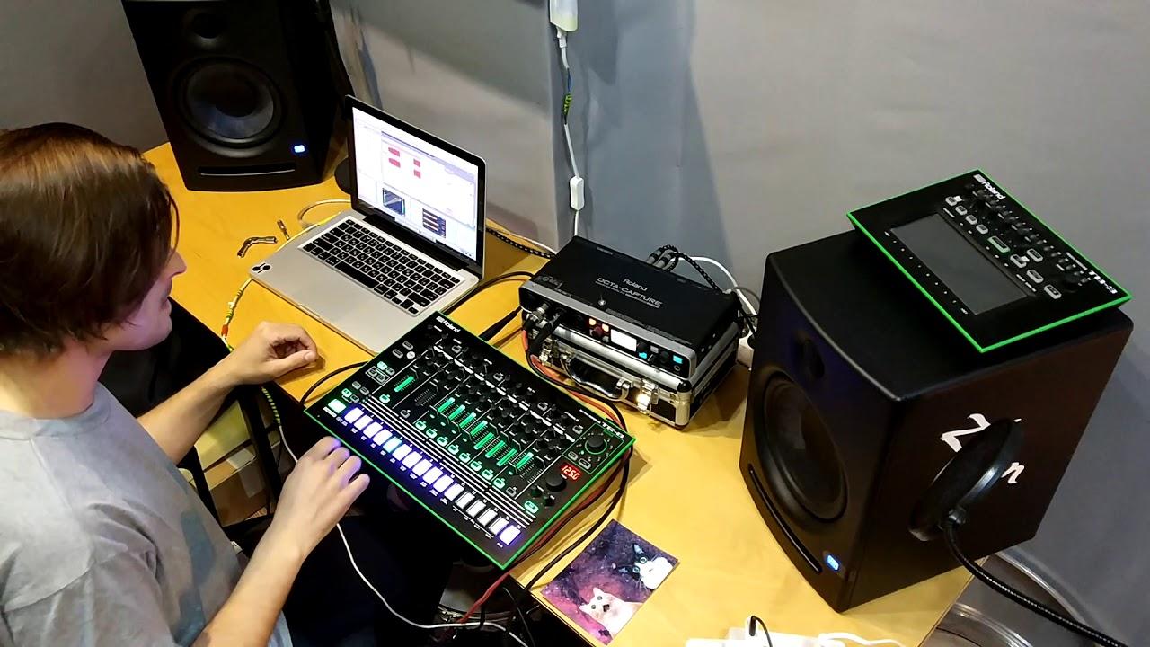 drum machine technotronoic pump up the jam roland tr 8 youtube. Black Bedroom Furniture Sets. Home Design Ideas