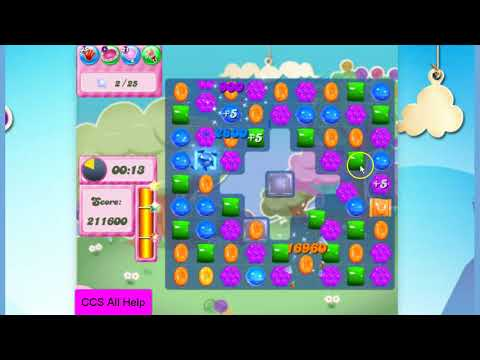Candy Crush Saga Level 2789 NO BOOSTERS Cookie