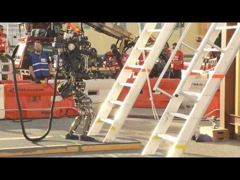 DARPA Robotics Challenge Trials Day One Wrap