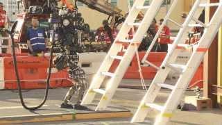 DARPA Robotics Challenge Trials Day One Wrap