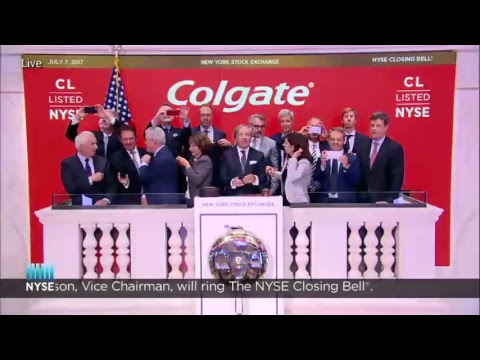 Colgate-Palmolive Company Rings The NYSE Closing Bell