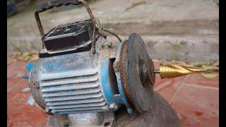 Sáng tạo hay với máy bơm nước cũ-Rất hữu ích cho bạn