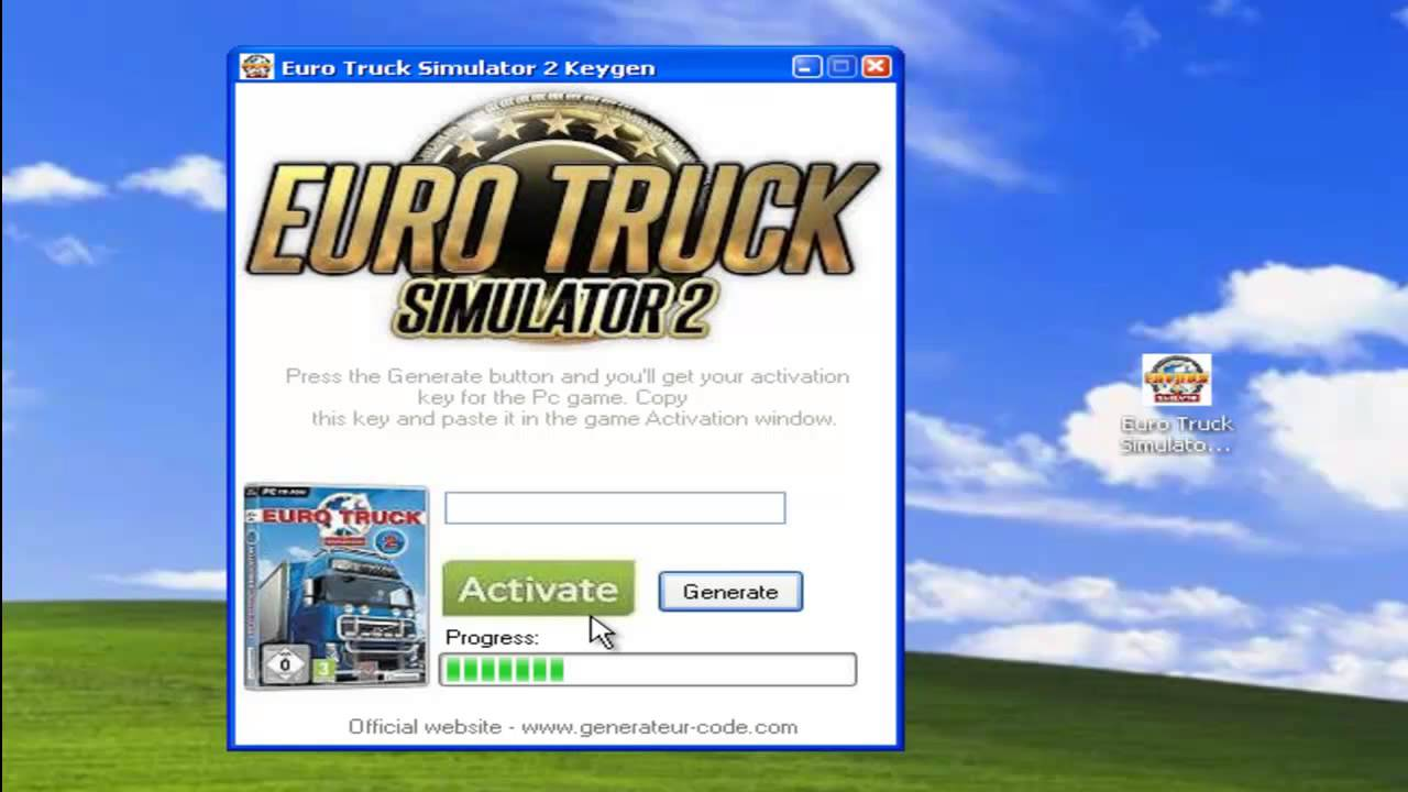 Euro Truck Simulator 2 d'activation code France - YouTube