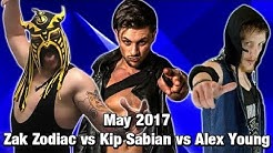 Zak Zodiac vs Alex Young vs Kip Sabian