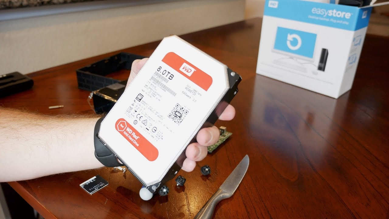 "How to Get Premium Hard Drives for Cheap by ""Shucking"