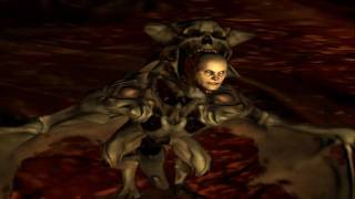 DOOM 3 Resurrection of Evil walkthrough HD Level 12 Hell Unknown final boss ending