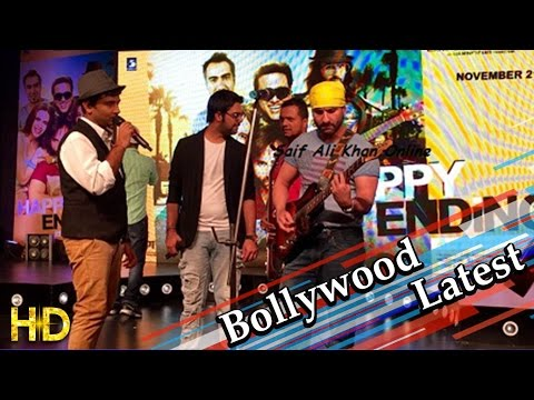 Saif Ali Khan Performs On Paaji Tussi Such Song Happy Ending