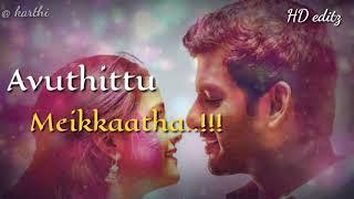 Kambathu ponnu WhatsApp status | sandakozhi 2 whatsapp status | Vishal Keerthi Suresh | love status