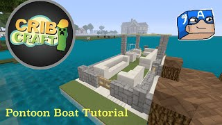 Xbox 360: To Make A Pontoon Boat In Minecraft
