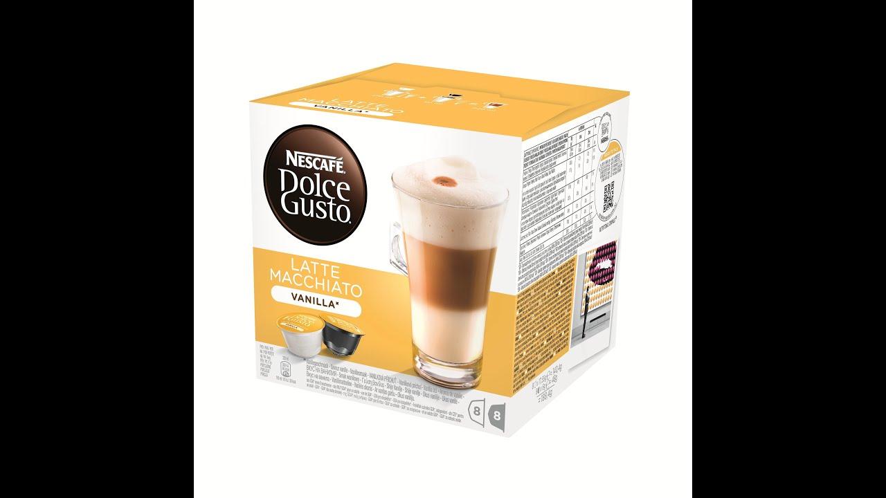 Making Nescafe Dolce Gusto Cappuccino (Mini Me) - YouTube