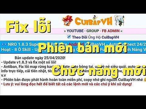 Zong1sao || Hướng Dẫn Tải Bản 1.8.3 Fix Lỗi Và Các Chức Năng Mới Nhất Của Cuibapvh -Ngọc Rồng Online