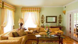 Портьерные шторы и дизайн квартиры: фото и видео