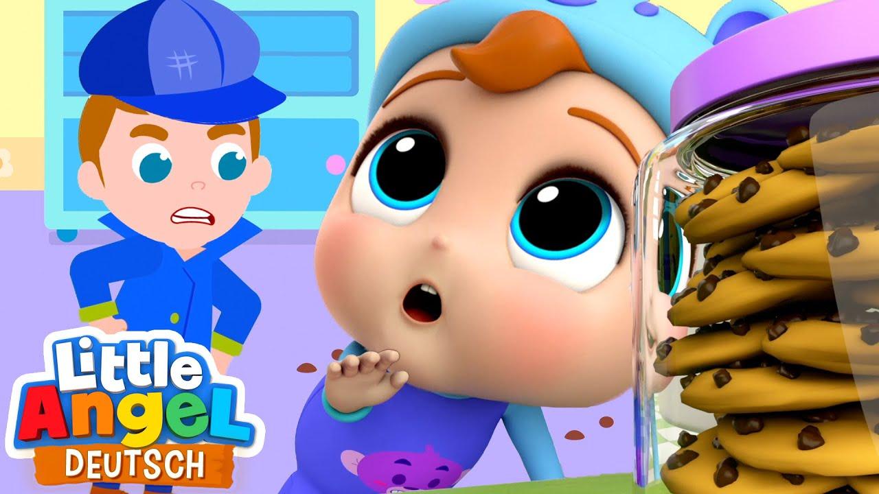 Download Wer hat den Keks geklaut? | Zeichentrick | Little Angel Deutsch - Kinderlieder