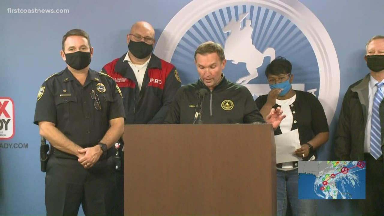 Jacksonville Mayor Lenny Curry gives update on Eta storm preps in Duval County