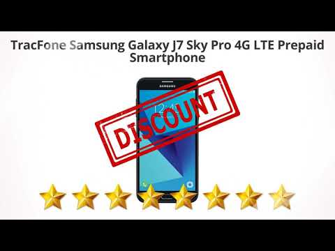 TracFone Samsung Galaxy J7 Sky Pro 4G LTE Prepaid Smartphone  | Review and Discount
