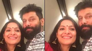 Vikram Family Photos With Wife, Son, Daughter, Parents & Friends