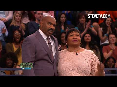 Brings Steve Harvey A Message From Her Family In Nigeria