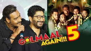 Ajay Devgn ने की Golmaal 5  की Announcement | Golmaal Again Trailer Launch