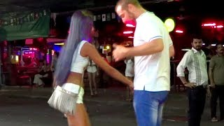 PATTAYA IS A PARADISE FOR SINGLE MEN? | Walking Street, Thailand Nigtlife thumbnail