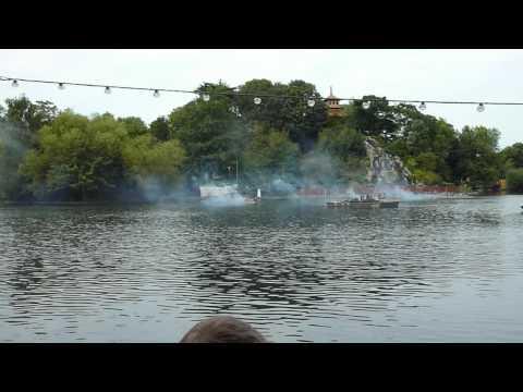 Peasholm Park Naval Battle