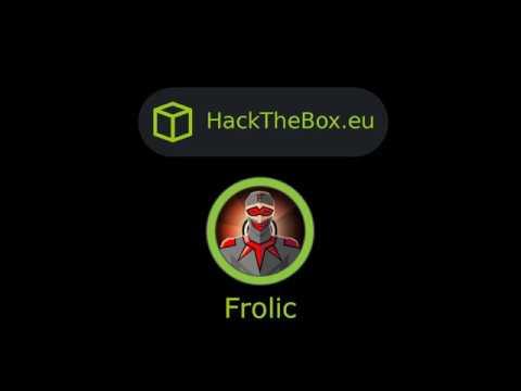HackTheBox - Frolic