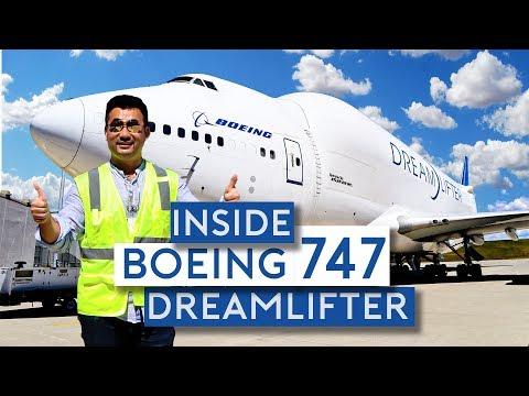 Inside the Boeing 747 Dreamlifter