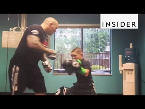 10-year-old Boxing Champ