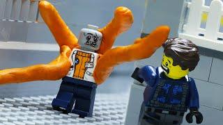 LEGO Land | Lego Zombie Hunter City: Lego Virus Monster Experiment | Lego Stop Motion Animation