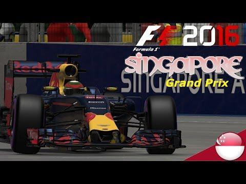 F1 2016: Round 15 Singapore Grand Prix 100% Race Distance