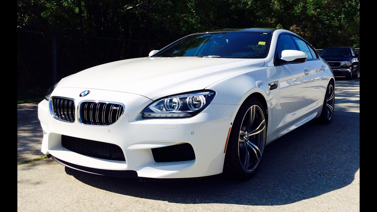 2015 bmw m6 gran coupe full review exhaust test drive start up youtube