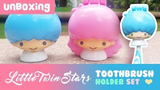 Unboxing Little Twin Stars Toothbrush Holder Set (Mcdonald's Happy Meal Toy)