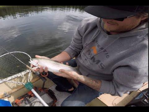 Clear BC Lake Fishing