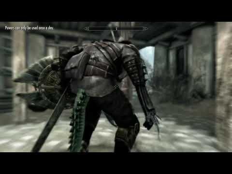 Skyrim: Wolfish Grin