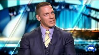 "John Cena ""Speaks Chinese"" about Ferdinand movie Australian Tv Nov 28, 2017"