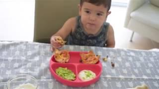 Taco Wontons! Toddler Friendly Recipe of the Week.