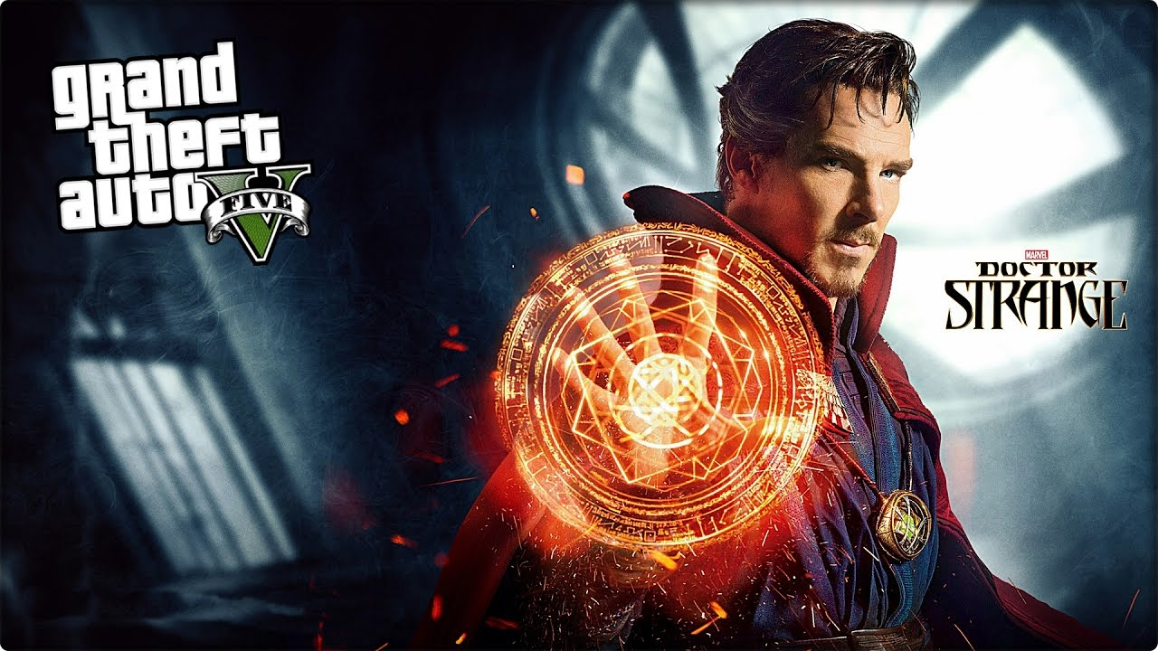 GTA 5 DOCTOR STRANGE MODU (FACECAM)