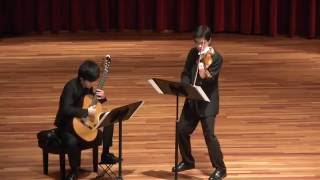 History of the Tango(All four movements) -- Astor Piazzolla       Erdong Li & Eric Tsai