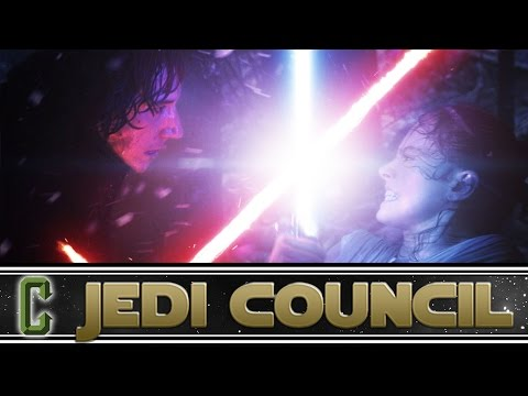 Kylo Ren and Rey Never Met Before Force Awakens Says JJ Abrams - Collider Jedi Council