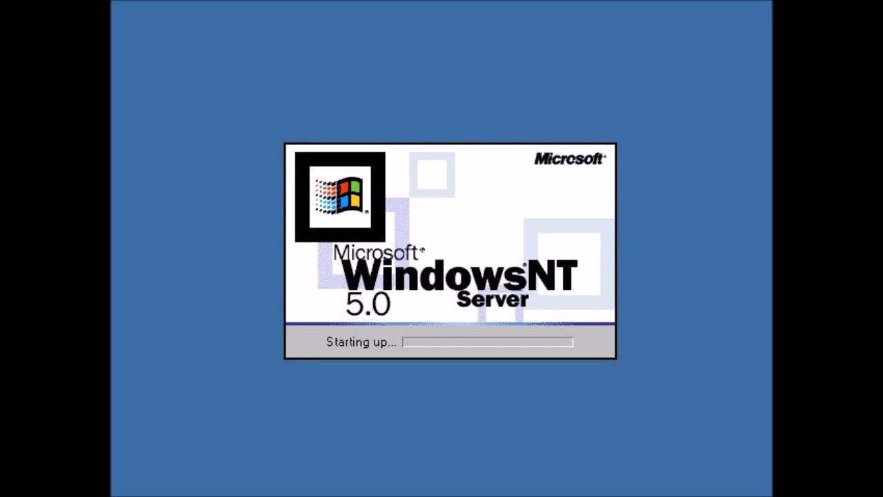 windows nt 5 0 startup earrape really loud youtube