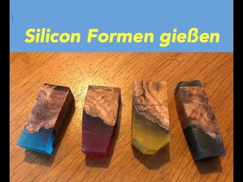 Silikonformen Selber Herstellen Fur Penblanks How To Make Silikon