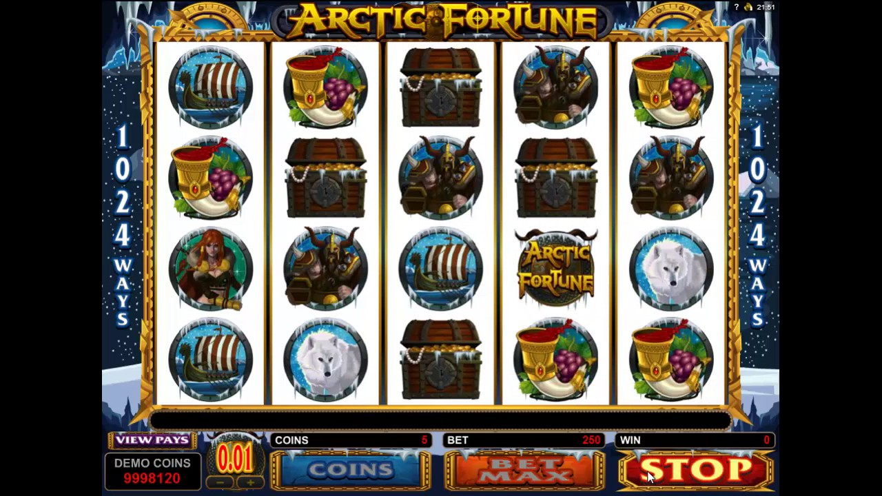 Hit arctic fortune microgaming slot game lar?one