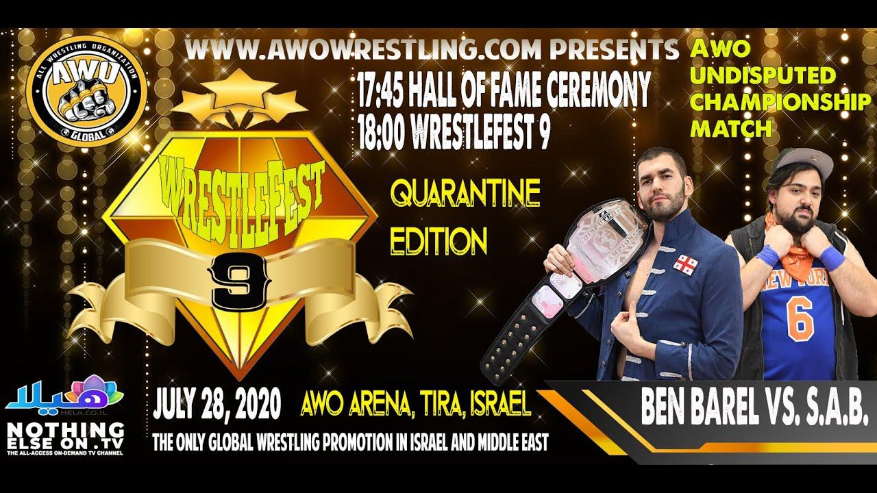 AWO WrestleFest 9 Ben Barel vs. S.A.B.