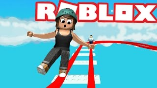 HIGHEST PARKOUR EVER IN ROBLOX | Roblox Ride a cart to the winners