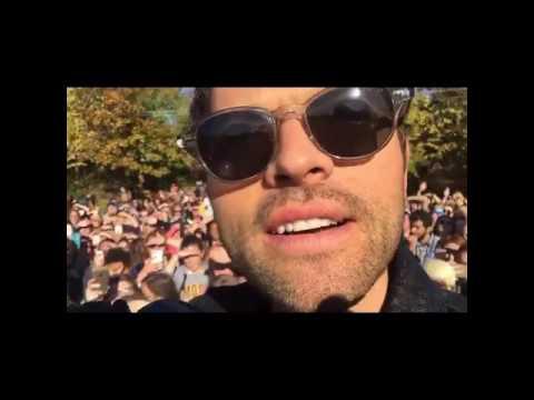 Misha Collins fb livestream -- travelling through Ohio with Darius for Hillary Campaign (pt 4)