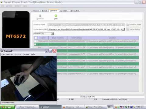 cara software ADVAN S5E NEW