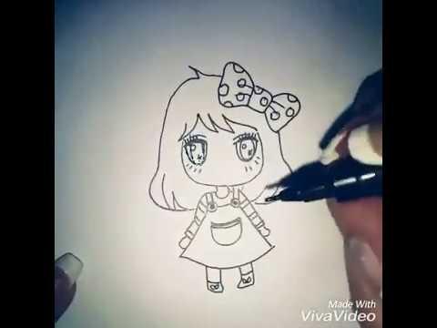 رسم انمي Anime Cute Youtube