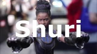 Hot Toys :Black Panther -Shuri @ ACGHK 2018