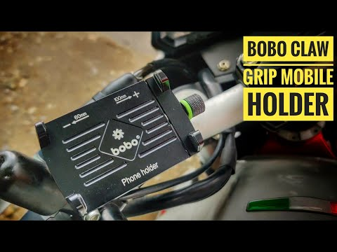 BOBO CLAW GRIP MOBILE HOLDER || UNBOXING || INSTALL || SPEED TEST